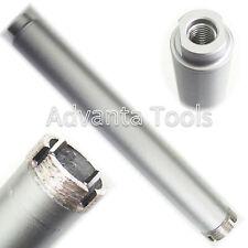 "1-1/2�€  Dry Diamond Core Drill Bit for Hard Concrete Masonry 5/8""-11 Threads"