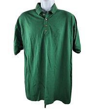 Vintage Bugle Boy Polo Camicia da Golf XL Verde