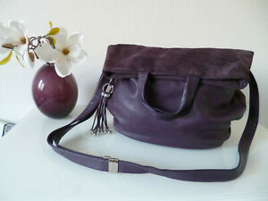 BREE Brigitte 15 Damen Handtasche lila Leder