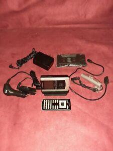 Samsung XM Handheld Sattelite Radio With Accessories YX-M1 YA-CD100
