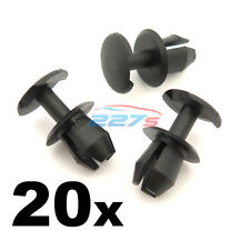 20x 8mm Plastic Trim Clips- VW, Audi & Seat, Various Locations inc. Boot Lining