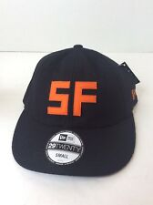New Era The Hundreds 29TWENTY Black Orange SF San Francisco Baseball Hat Cap Sm