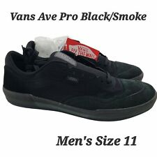Vans (Ave Pro) Suede Black Smoke Skate Shoes Sneakers Mens Size 11 New
