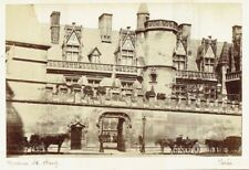 Musée de Cluny, Paris, France. Original 1880s albumen photograph