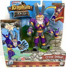 Little Tikes Kingdom Builders - Crow DeBar Transforming Action Figure