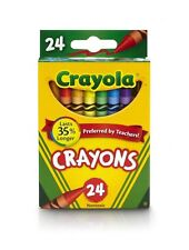 Crayola Color Crayons Assorted 24 Count New