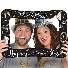 New Year Balloon Photo Selfie Frame