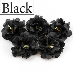 "10-100Pc Artificial Flowers 3""Silk Peony Head For Wedding Home Fake flower Decor"