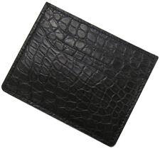 RIOS1931 for Panatime Black Premium Genuine Alligator Wallet