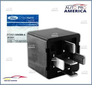 (1) NEW OEM FORD Relay 1990-2015 Ford F-150 Blade Terminal Type 12V FOAZ14N089A