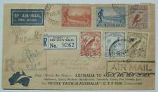 Pilot Signed Australia To Papua New Guinea 1934 First Official Air Mail Flight