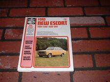 N.O.S. WORKSHOP MANUAL FOR FORD ESCORT MK2 MODELS.1975 ONWARDS.1100 1300 1600.