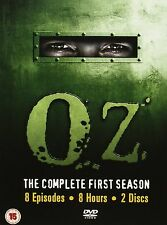 OZ Complete Series 1 DVD All Episode First Season Original UK Release New Sealed