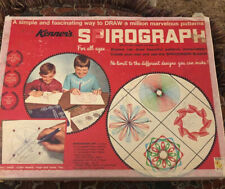 1967 Kenner Spirograph No. 401 Incomplete w/ paper board instruction etc