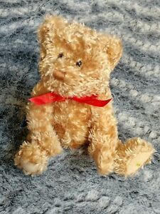 "Teddy Bear Hallmark 100th Anniversary Gold Crown Teddy-Tennial Bear 13"" Plush"