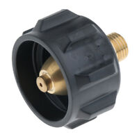 Propane Tank Adapter Gas Fitting with 1 Male QCC ACM for Most BBQ Grill