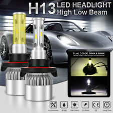 H13 9008 1050W 1575000LM CREE LED Headlight Hi/Low Beam Bulb White 6000K Power