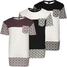 Camisetas de hombre de manga corta de algodón y poliéster