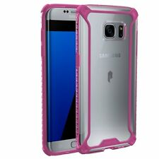 Affinity Premium Thin&Corner Protection Bumper Case for Galaxy S7 Edge Pink