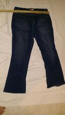 Faded Glory size 16 womens stretch denim jeans COMFY