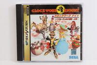 Clockwork Knight Vol 1 W/ Spine SEGA Saturn SS Japan Import US Seller G7025