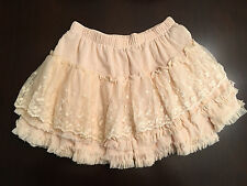VIVI JAPANESE STYLE MINI TUTU RARA TIERED LACE SKIRT ONE SIZE