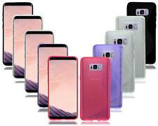 Étuis, housses et coques etuis portefeuilles Samsung Galaxy S8 en silicone, caoutchouc, gel pour téléphone mobile et assistant personnel (PDA)