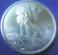 2019 Disney's Lion King 25th Anniversary 1 oz .999 Silver Coin Round
