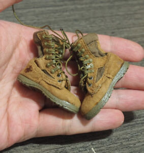 Highly detail 1/6 Scale Real Leather made Tactical Boots