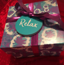 LUSH Relax Gift Set 4 Items Inc Lavender Twilight Bath Bomb & relax Shower Gel