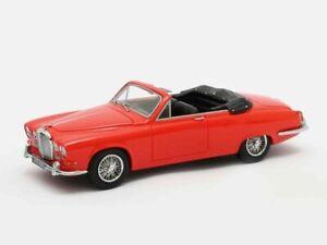 Jaguar 420 Harold Redford Cabrio rot 1967 - 1:43 Matrix