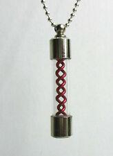 Resident evil T-Virus G-Virus Anti Pendant / Necklace (Red)