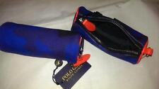 Ralph Lauren Polo Camoflage Golf Ball Bag Pouch Leather Trim NWT $ 65