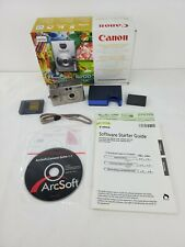 Canon Elph PowerShot S200 Digital Camera Original Box & Accessories Please Read