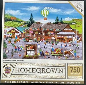 Master Pieces Homegrown - Sunny Farms 750pc Puzzle