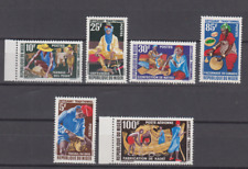 PP182 - NIGER STAMPS 1963 HANDICRAFT/ART/WOODWORK/GOLD MNH