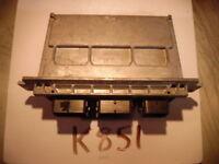 11 12 FORD FUSION 2.5L COMPUTER BRAIN ENGINE CONTROL ECU ECM EBX  MODULE K851