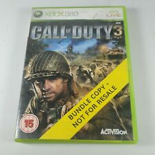 Call of Duty 3 Xbox 360 Action Video Game Anleitung PAL