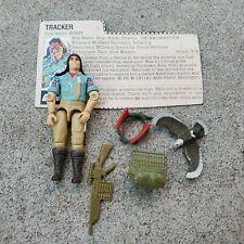 Vintage GI Joe Figure 1984 Spirit complete with file card