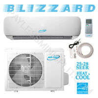 12,000 BTU Ductless Mini Split Conditioner Heat Pump 24.8 SEER 220V AirCon 1 Ton