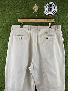 CALLAWAY, Mens W38 L33, Stone, Regular Fit, Golf Trousers,*VGC*