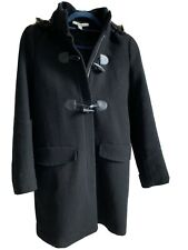 Zara black coat size small