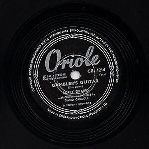 1953 RUSTY DRAPER 78 GAMBLER'S GUITAR / FREE HOME DEMONSTRATION ORIOLE CB1214  E
