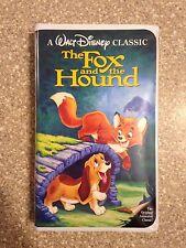 FOX AND THE HOUND vhs tape black diamond classic WALT DISNEY'S disney