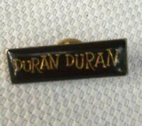Vintage Duran Duran Pin Band Lapel 1980s New Wave Rock N Roll Music Enamel