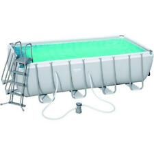 Piscina Bestway Power Steel 56670 Rettangolare 488X244 Cm