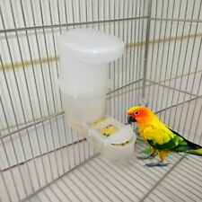 Bird Feeder Automatic Food Water Feeding Drinker Parrot Pet Clip Dispenser Cage