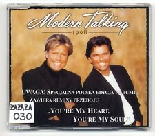 Modern Talking Maxi-CD you 're My Heart you' re My Soul 1998-made in Poland!!!