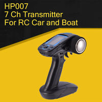 Hobby HP007 2.4G 7 CH Remote Control Transmitter Integrated Gyro For RC Car Boat