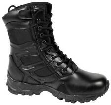 BLACK FORCED Entry Tactical BOOTS MILITARY ARMY Police Security 3-13 Reg & Wide